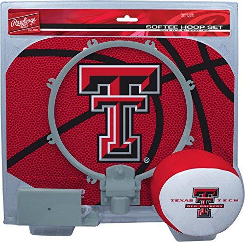 NCAA Texas Tech Red Raiders Kids Slam Dunk Hoop Set, Red, Small