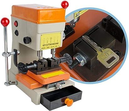 borisen Universal clave duplicación máquina para cerrajero clave para máquina de cortar para llaves de coche y las llaves de casa: Amazon.es: Bricolaje y herramientas