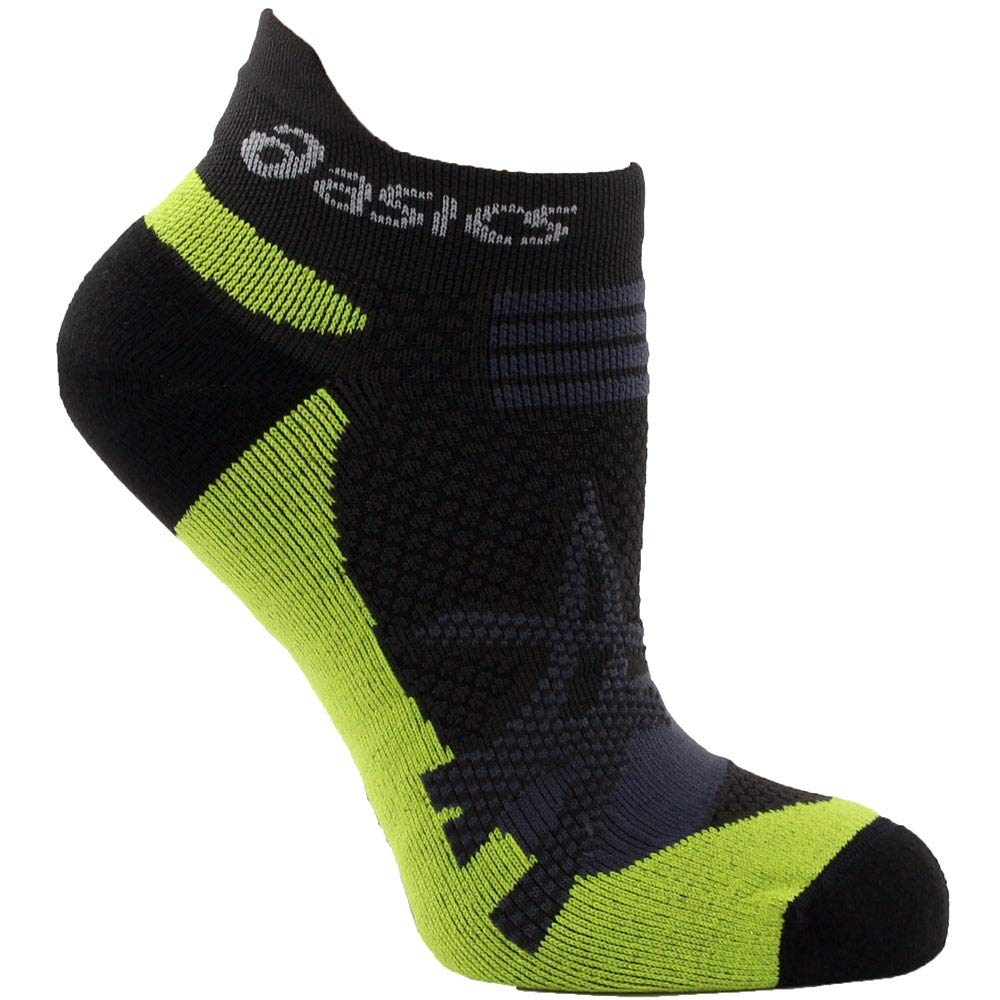 ASICS Kayano Single Tab Sock, Black, X-Small by ASICS