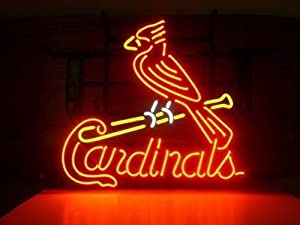 "Urby 17""x14"" Sports Teams St Louis Cardinal Beer Bar Pub Decoration Neon Light Sign 3-Year Warranty-Excellent Handicraft! M35"