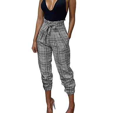 Zegeey Pantalones De Harén Para Mujer Primavera Casual