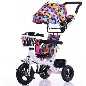 Bicicleta para niños Niño en el interior Pequeña bicicleta de triciclo Niño de la bicicleta Bicicleta