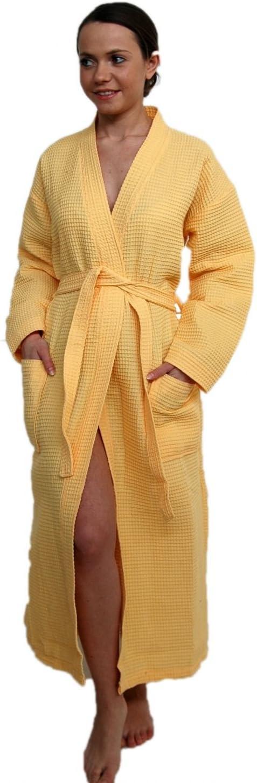 Bademantel Piquee als Kimono von Naturawalk Gr/össe L Bordeaux