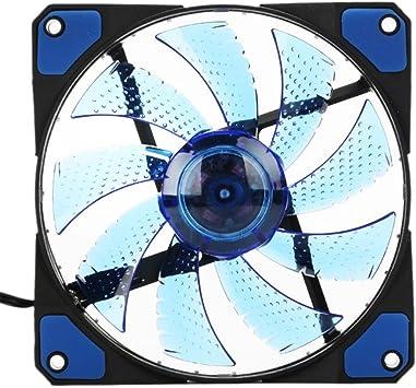 Espeedy Los ventiladores ultra silenciosos de la caja del LED de ...