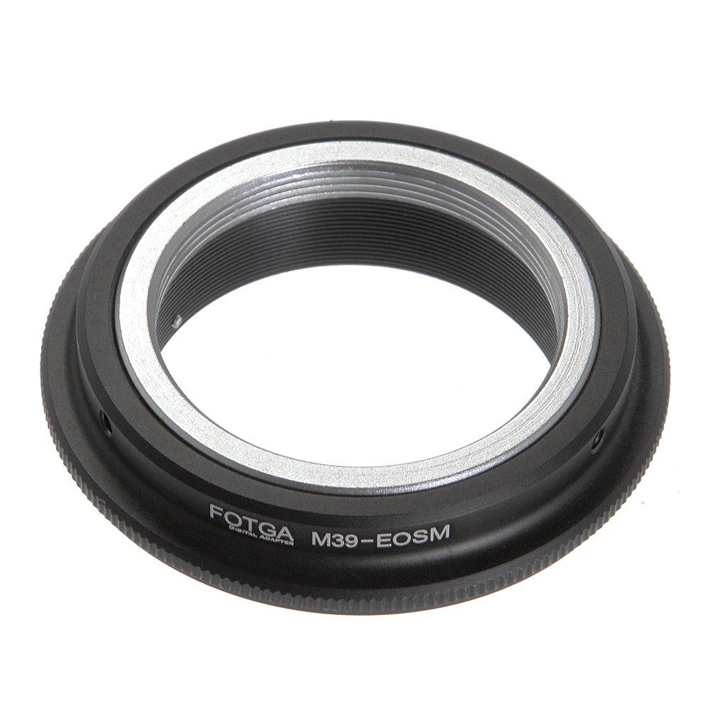 Fotga Lens Mount Adapter for Leica M39 L39 Mount Lens to Canon EOS EF-M Mount M M2 M3 M5 M6 M10 M50 M100 Dslr Mirrorless Camera