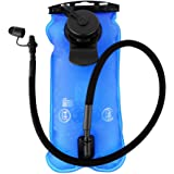 Hydration Bladder, 3 Liter Water Bladder for Hydration Pack,Water Reservoir, FDA Approved, BPA-Free, Dual Opening