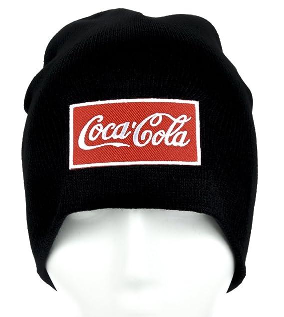 Coca-Cola Beanie Alternative Clothing Knit Cap Coke Soda Pop  Amazon.ca   Clothing   Accessories 083d52e242e