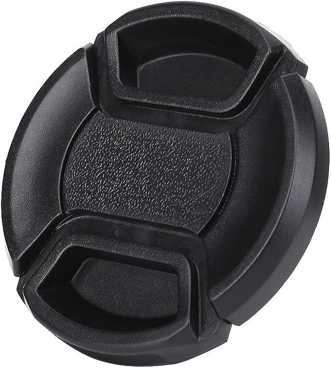 etc Nikon Sony Pentax Yoidesu 43mm Lens Hood,Vented Metal Lens Hood with Plastic Lenses Cap for for Leica Canon Black