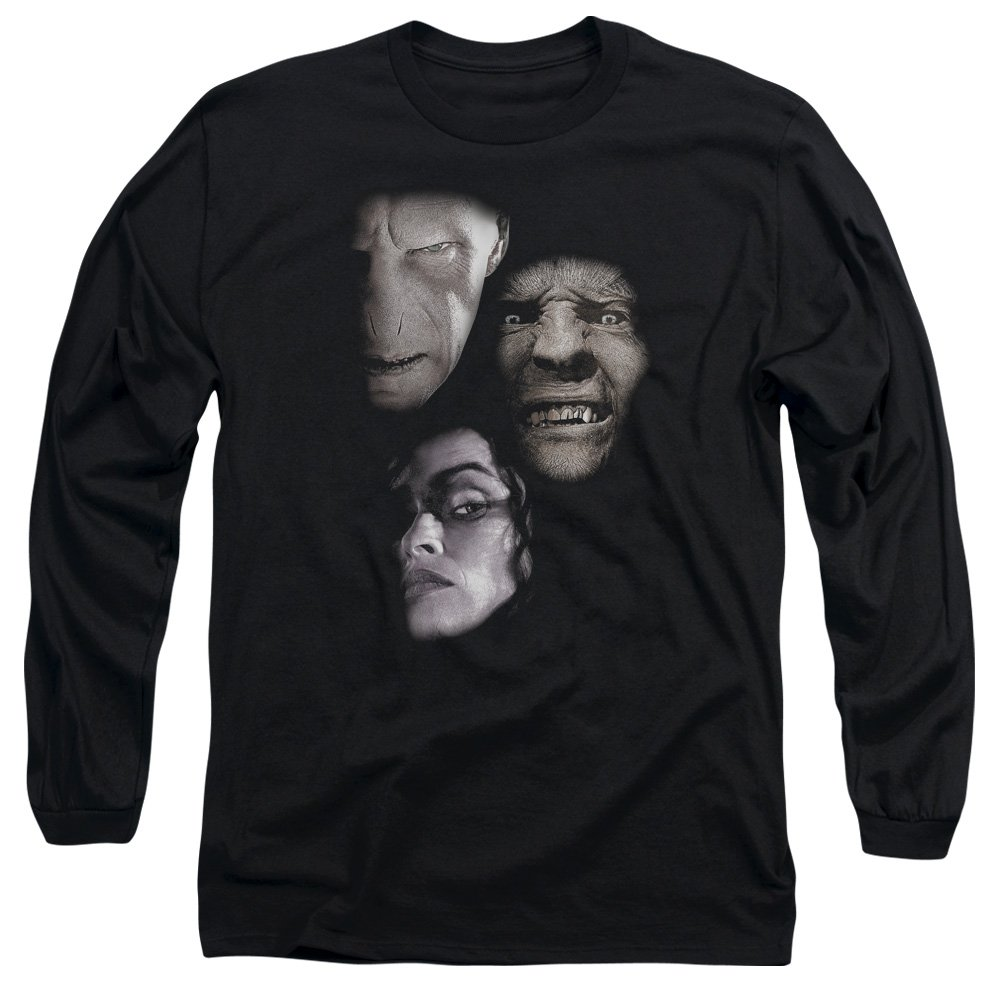 Villian Heads Long Sleeve Shirt Harry Potter