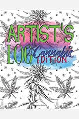 ARTISTS LOG: Cannabis Edition Paperback