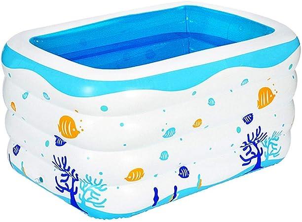 HEROTIGH Piscinas Hinchables Bebé Familia Ecológica Inflable Niño Bebé 120X105X75Cm Inflatable Pool: Amazon.es: Hogar
