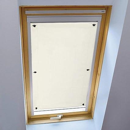 Dachfensterrollo Verdunkelungsrollo Sonnenschutz Dachfenster Rollo Thermo Stoff