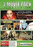 Sucker Punch + V for Vendetta + Watchmen Comic