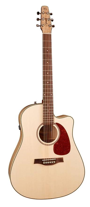Seagull Performer CW FM HG Q1 · Guitarra acústica: Amazon.es ...