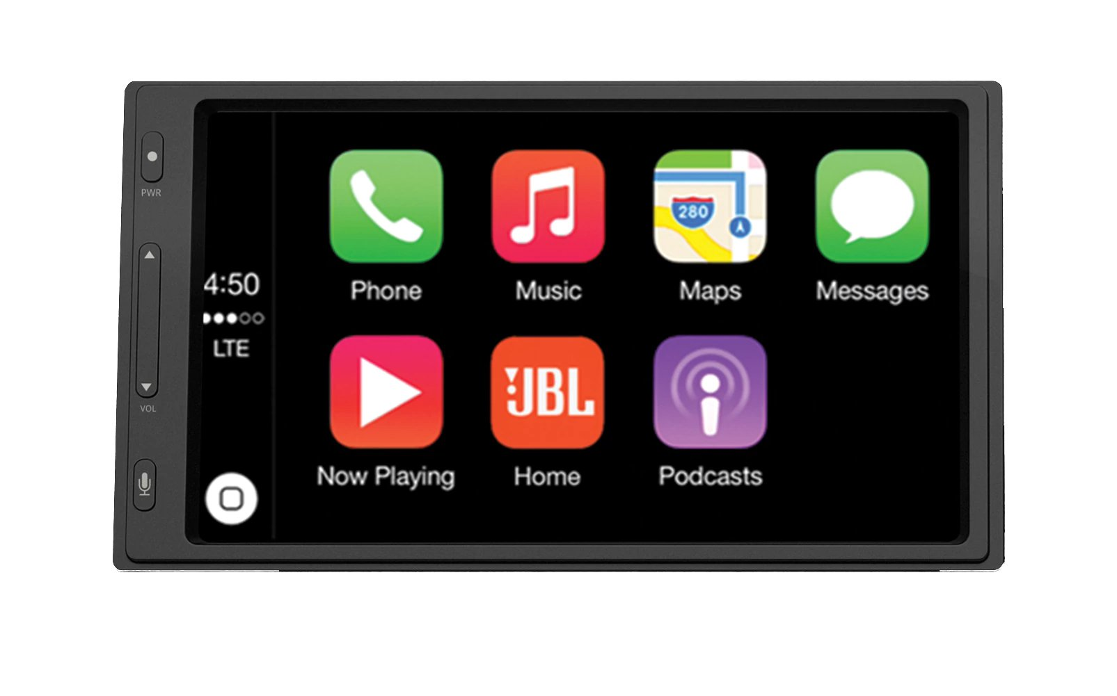 "JBL Legend CP100 6.75"" Touch Screen In-Dash Receiver With Android Auto And Apple CarPlay"