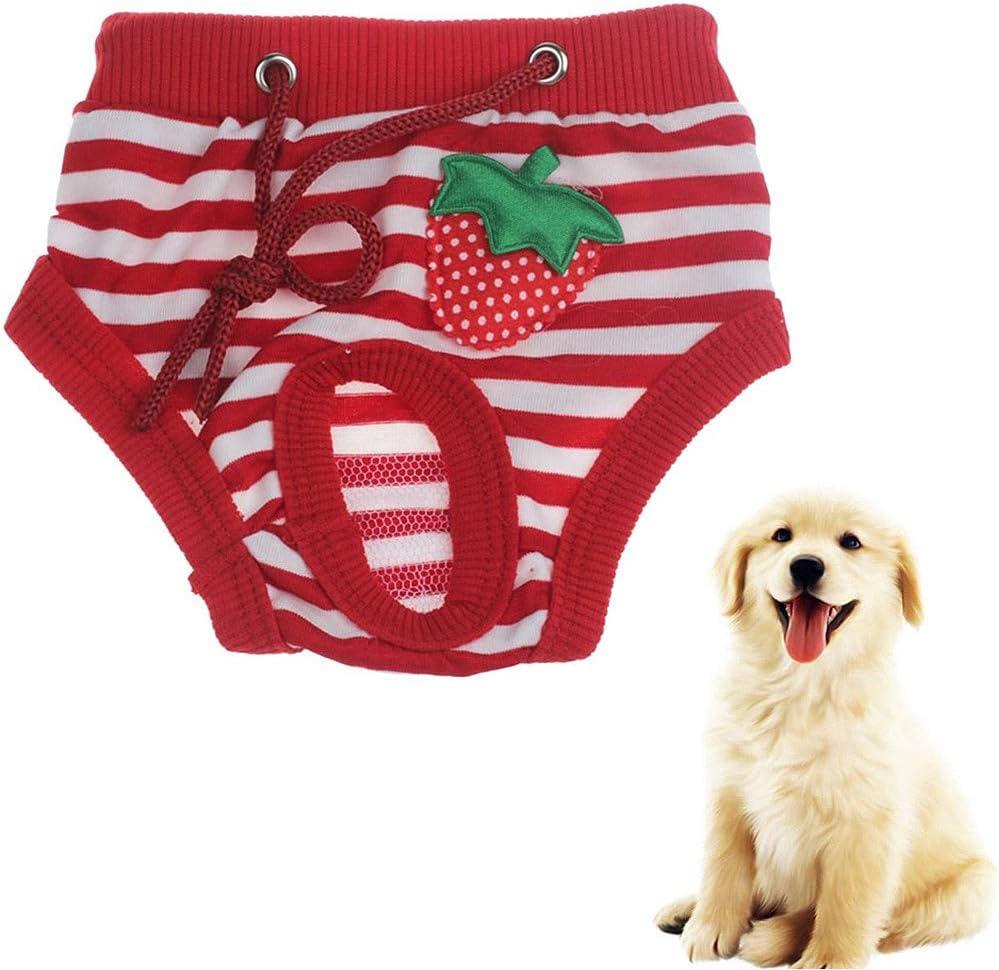lffopt Dog Nappies Female Medium Dog Pants For Bitchs In Season Dog Nappies Male Dog Nappies Female Medium Dogs Nappies Female Dog Nappies Dog Diapers blue,s