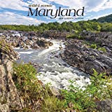 Maryland Wild & Scenic 2020 12 x 12 Inch Monthly Square Wall Calendar, USA United States of America Southeast State Nature