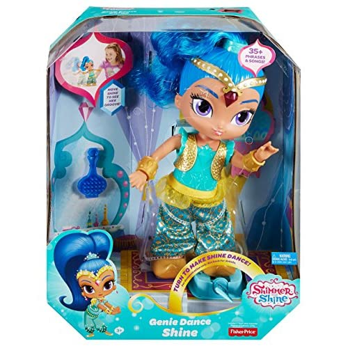 Fisher-Price Nickelodeon Shimmer & Shine, Genie Dance Shine Doll