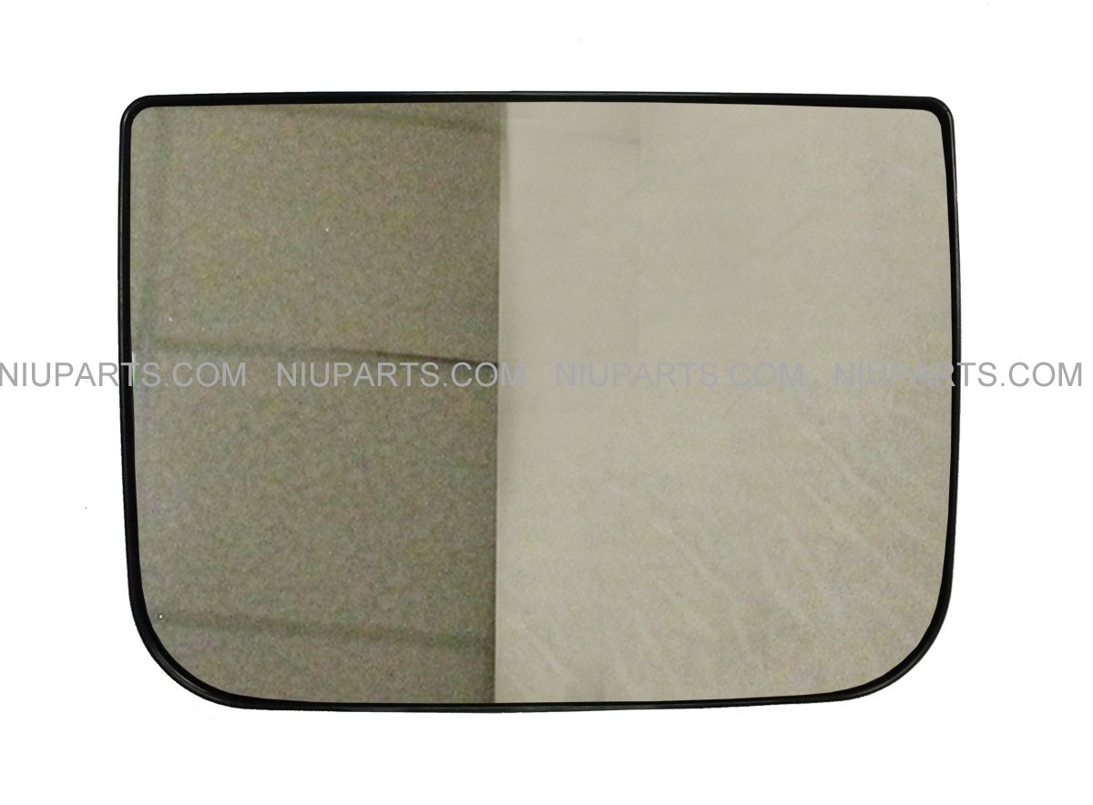 Door Mirror Wide Angle Convex with Heating Circuit - Driver Side (Fit: Fit: Kenworth T660 T600 T370 T270 T170 T800 T470 T440) NIUPARTS