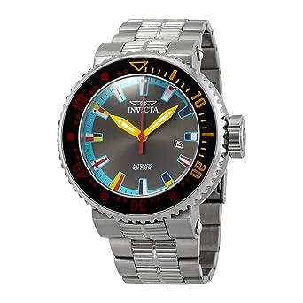 Invicta Pro Diver Reloj de Hombre automático Correa y Caja de Acero 27663: Amazon.es: Relojes