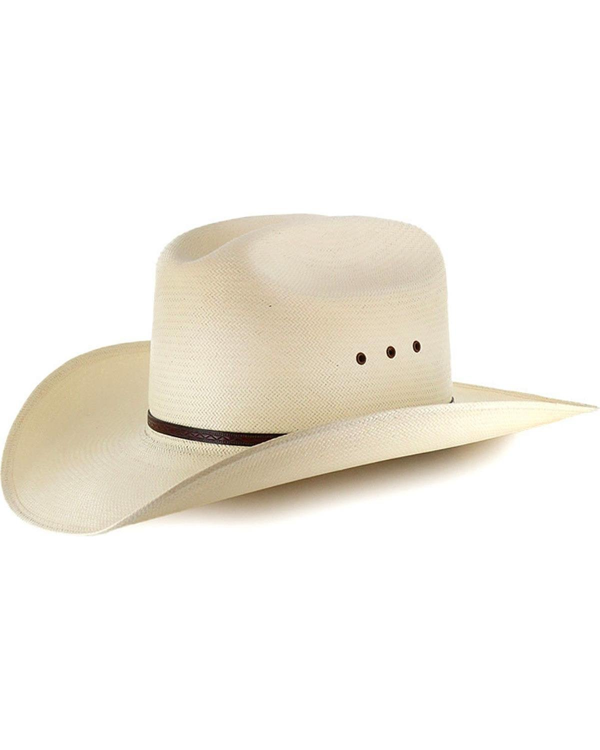 Moonshine Spirit Men's 8X River Bank Straw Hat Natural 7 1/2