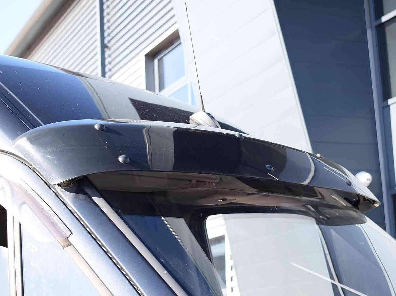 Van Demon Exterior Black Sun Visor Shield for Mercedes Sprinter 2006 on