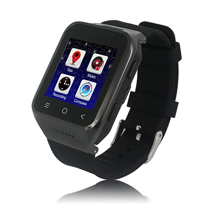 ZGPAX S8 Android 4.4 Dual Core Smart Watch Phone,1.54inch LG Multi ...
