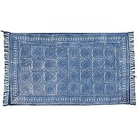 Jaipur Handloom Indian Area Rug Handmade Rag Rug, Carpet Runner, Large Multicolor Colorful Indian Dhurrie, Floor Mat Bohemian Boho Decorative Accent Weave Rag Rug (4 X 6 ft (120 X 180 cm), Multi_05)