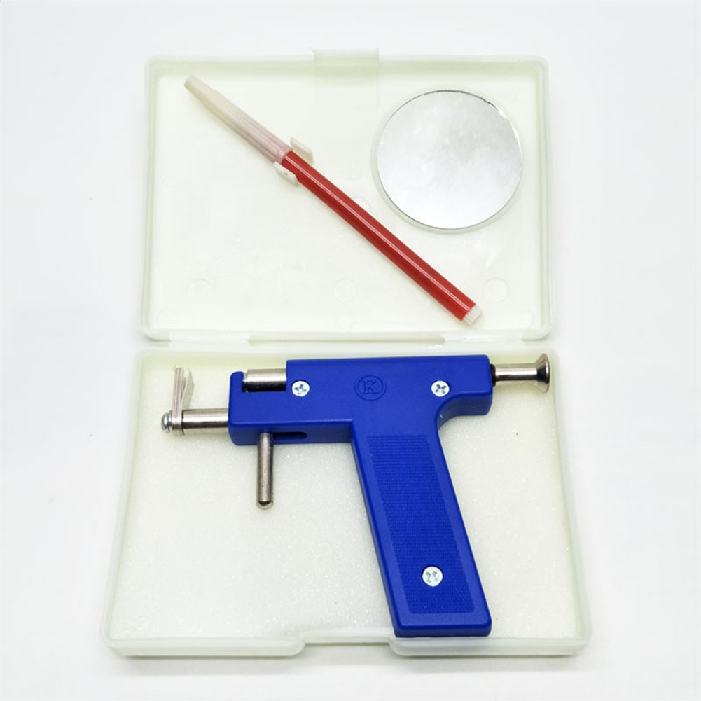 Professional Ear Piercing Gun Tool Set + 98pcs Ear Studs Steel Ear Nose Navel Body Piercing Gun Unit Tool Kit by ruipuplr (Image #6)