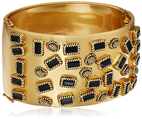 Boho-Chic Vacation & Fall Looks - Standard & Plus Size Styless - Rachel Zoe Jewelry Alma Glam Cuff Bracelet