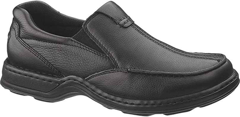 Hush Puppies Mens Aaron Slip On Leather Loafer Shoes