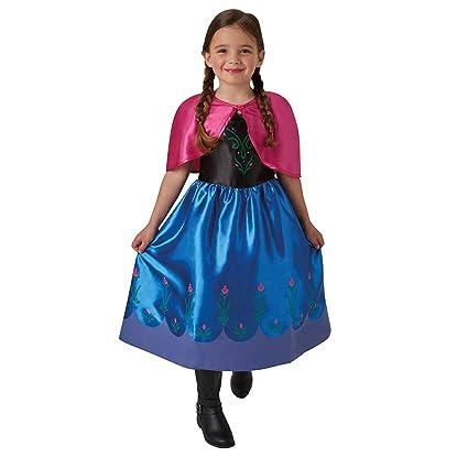 Frozen - Disfraz de Anna classic para niña, infantil talla 3-4 años (Rubies 620977-S)