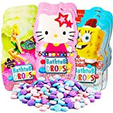 Color Bath Drops for Kids Super Set-- 80 Bath Tablets (10 Individually Wrapped Packs Featuring Disney Favorites and More!)