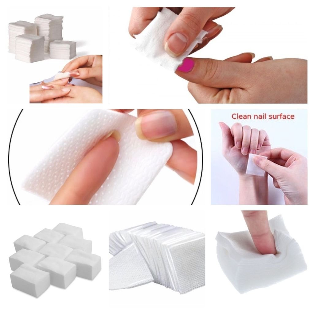 Original 400 X NAIL WIPES PADS ART GEL ACRYLIC POLISH REMOVER PEDICURE MANICURE G4GADGET