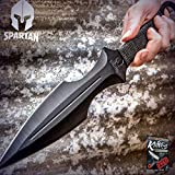 Best Get Hidden Pocket Knives - New Cool 15-Inch Oversized Spartan Fixed Blade Pro Review