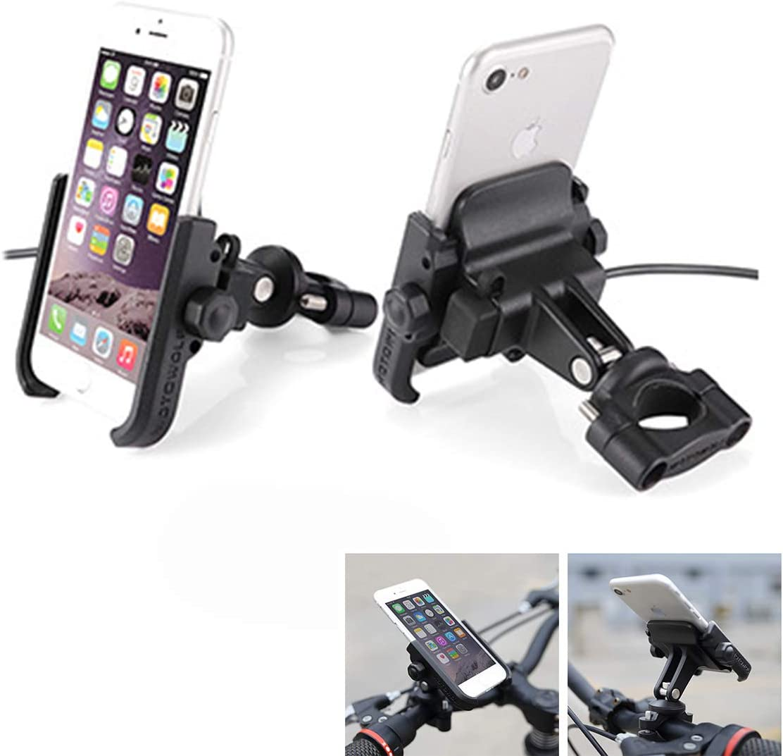 Soporte Móvil Teléfono Smartphone Universal para Moto Bici Scooter ...