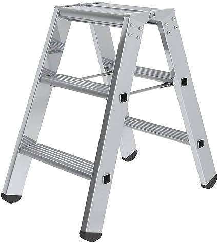 Escalera de marchas doble cara – Modelo Estándar – 2 x 3 peldaños – escalera – escalera de peldaños escabeaux