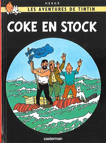 Coke En Stock  MINI ALBUM (Tintin) [Herge] (Tapa Dura)