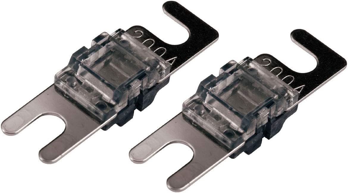 DS18 MANL-250A Mini ANL AFL 250 Amp Silver Plated Fuse 5 Pack