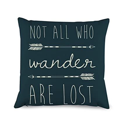 Pillow Quotes Magnificent Amazon Decorbox Quotes With Arrow Throw Pillow Covers