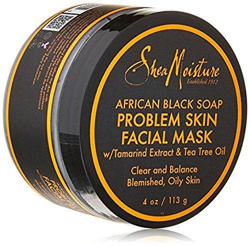 Problem Skin Mask (SheaMoisture African Black Soap Problem Skin Facial Mask, 4 Ounce)