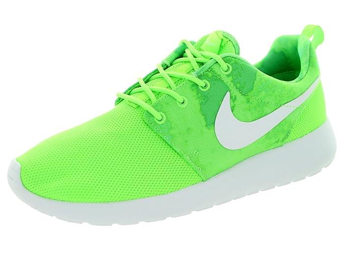 13895341a3efa Nike Womens Rosherun Flash Lime/White/Menta Running Shoe 6.5 Women US