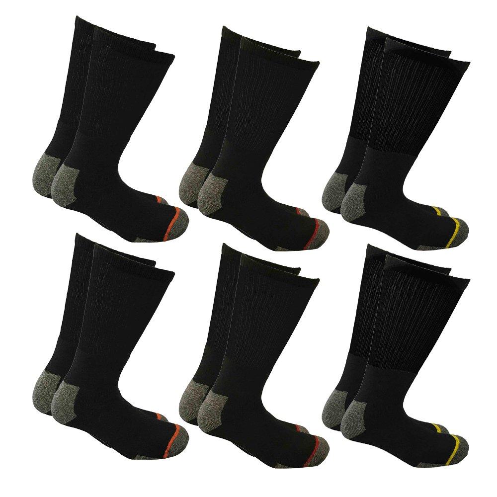 i-Smalls Chaussettes de Travail pour Hommes extra Fort avec Chaussettes Renforcées et Talon UK 6-11