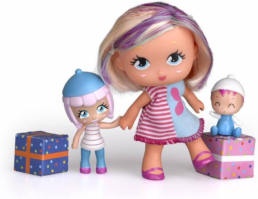 Amazon.es: Barriguitas - Set Figura Adulta, niña y bebé (Famosa 700012095): Juguetes y juegos