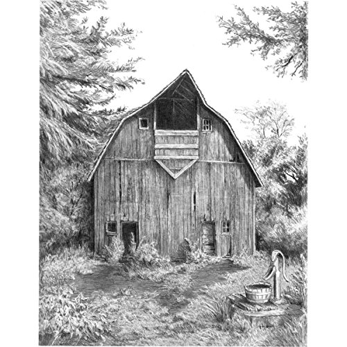 Royal and Langnickel Sketching Made Easy, Old Country Barn