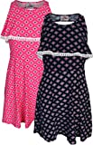 Real Love Girl's Printed Yummy Summer Dress (2 Pack), Diamond, Size 6X'
