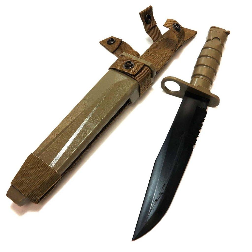 Airsoft Shooting Gear Cyma goma suave plástico M10 cuchillo ...