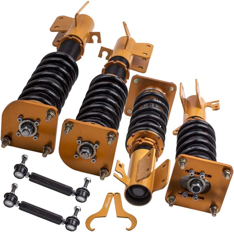 Coilovers Kit for Mazda 323 1999-2003 Adjustable Height Springs Struts Shocks