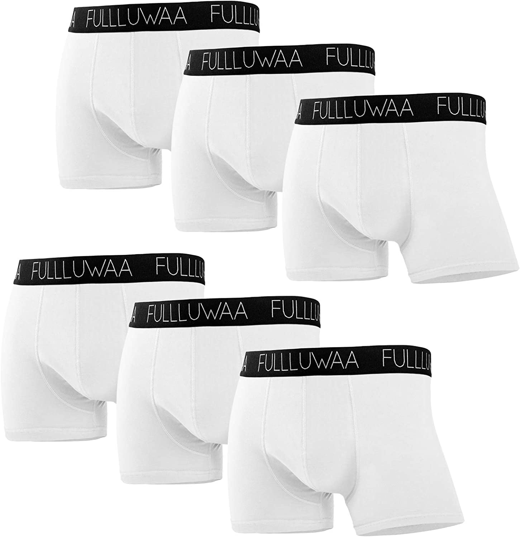 Fullluwaa Boxershorts Herren 6er Pack Retroshorts Trunks Men Unterw/äsche Unterhosen M/änner Baumwolle S,M,L,XL,2XL,3XL