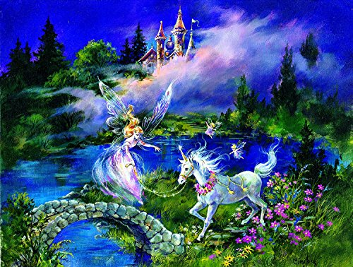Enchanted Forest Jigsaw Puzzle - Castles 300 pc Jigsaw Puzzle by SunsOut